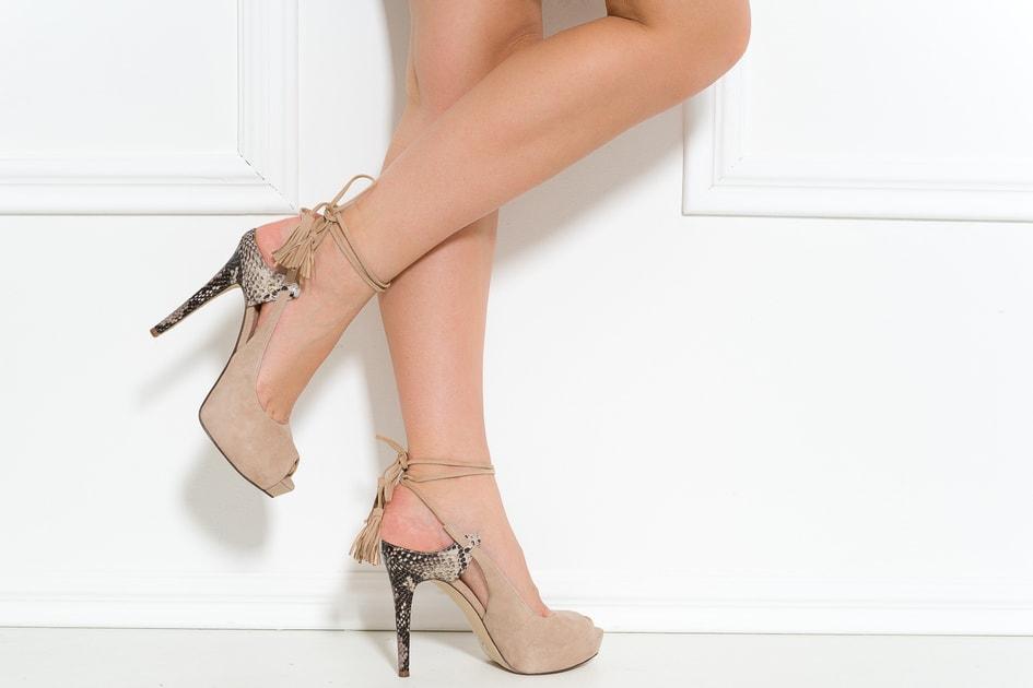 0a99baf60e Glamadise.sk - Guess dámske lodičky so šnurovaním béžové - Guess - Lodičky  - Dámske topánky - GLAM