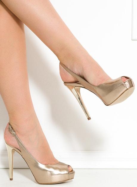 9e8fcfdfdab5e Glamadise.sk - Guess lodičky béžové s otvorenou špičkou - Guess - Lodičky -  Dámske topánky - GLAM, protože chci být odlišná!