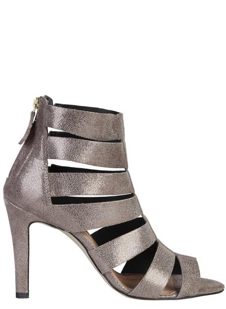 Glamadise.sk - Dámske kožené sandále páskové strieborné - Pierre Cardin -  Sandále - Dámske topánky - GLAM 3463187823