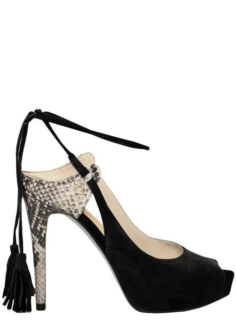 19a7481522 Glamadise.sk - Guess dámske lodičky so šnurovaním čierne - Guess - Lodičky  - Dámske topánky - GLAM