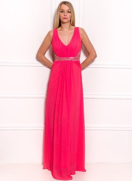 Glamadise.hu Fashion paradise - Női hosszú ruha Due Linee - Lazac - Due  Linee - Hosszú ruhák - Női ruházat - Divat olasz design 4b04dffde3