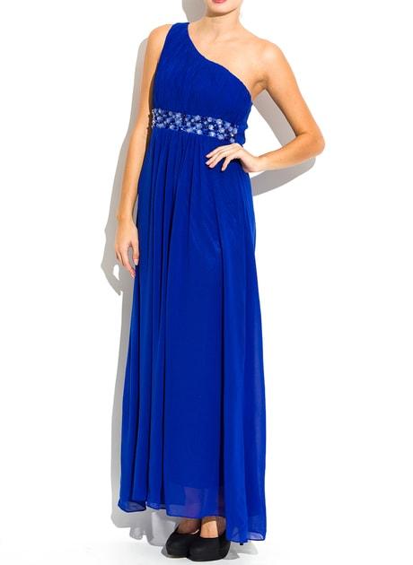 Glamadise.hu Fashion paradise - Női hosszú ruha - Kék - Hosszú ruhák - Női  ruházat - Divat olasz design 493de221cd