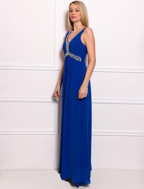 Glamadise.hu Fashion paradise - Női hosszú ruha Due Linee - Kék - Due Linee  - Hosszú ruhák - Női ruházat - Divat olasz design 6419e465a1
