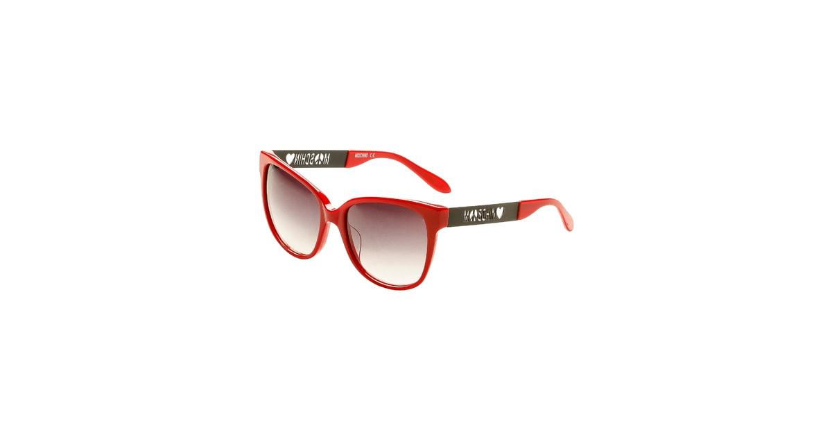 Glamadise.hu Fashion paradise - Női napszemüveg Love Moschino - Piros -  Love Moschino - KIEGÉSZÍTŐK - - Divat olasz design c97f020111