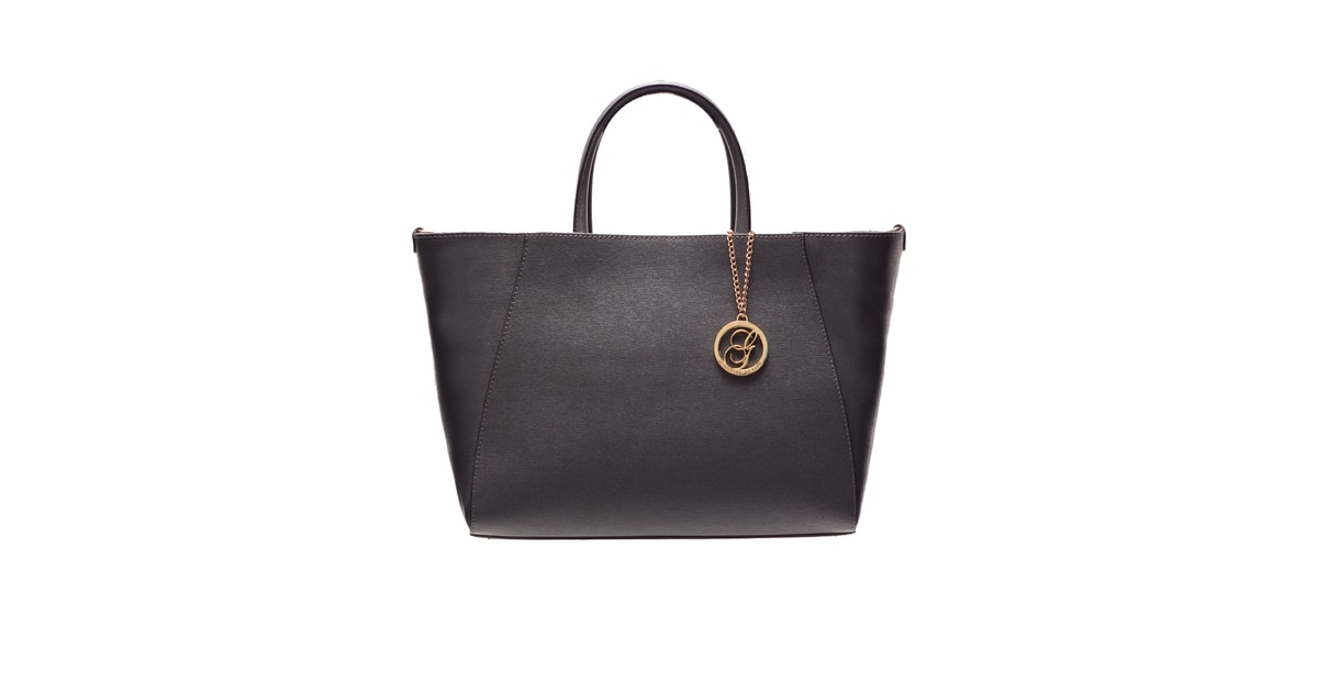Kožená kabelka ze safiánové kůže jednoduchá - tmavě šedá - Glamorous by  GLAM - Kožené kabelky - - GLAM 46d26fb385