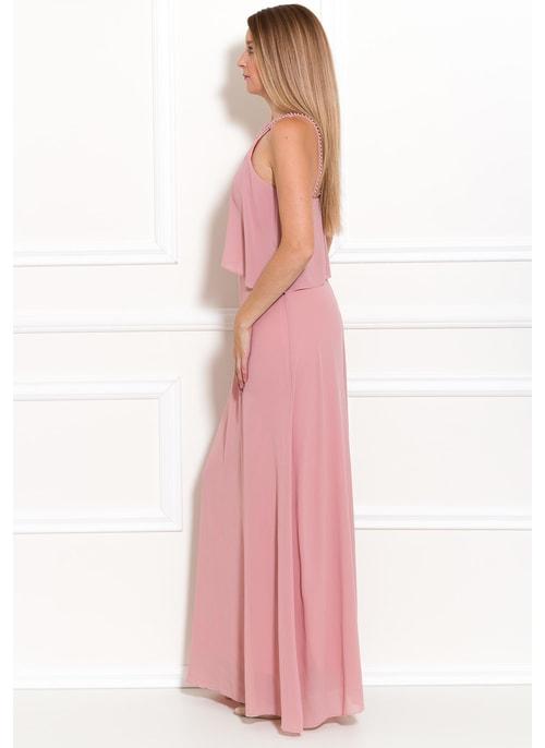 Luxusní italské dlouhé společenské šaty - GLAM 4a5e105139