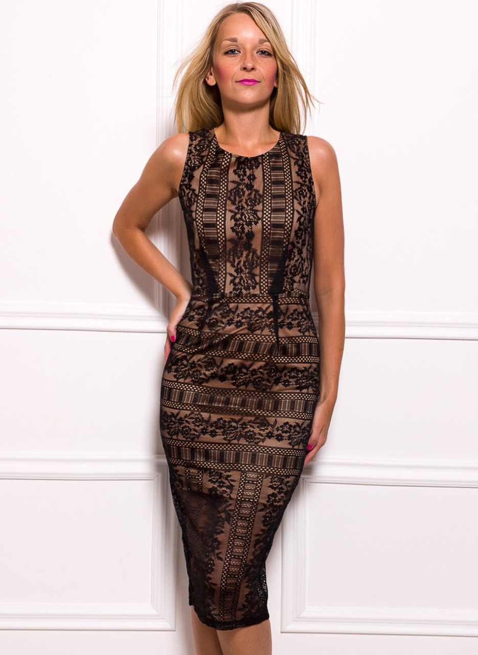 Glamadise.hu Fashion paradise - Női ruha Due Linee - Fekete - Due ... 5b8a1caed9