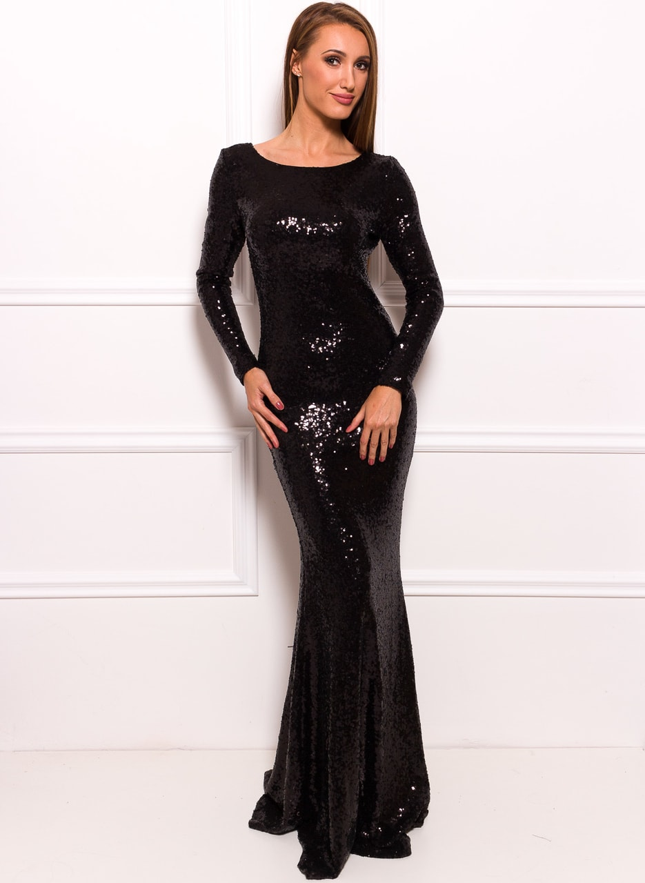 Glamadise.hu Fashion paradise - Společenské luxusní dlouhé šaty s ... 41297893ba
