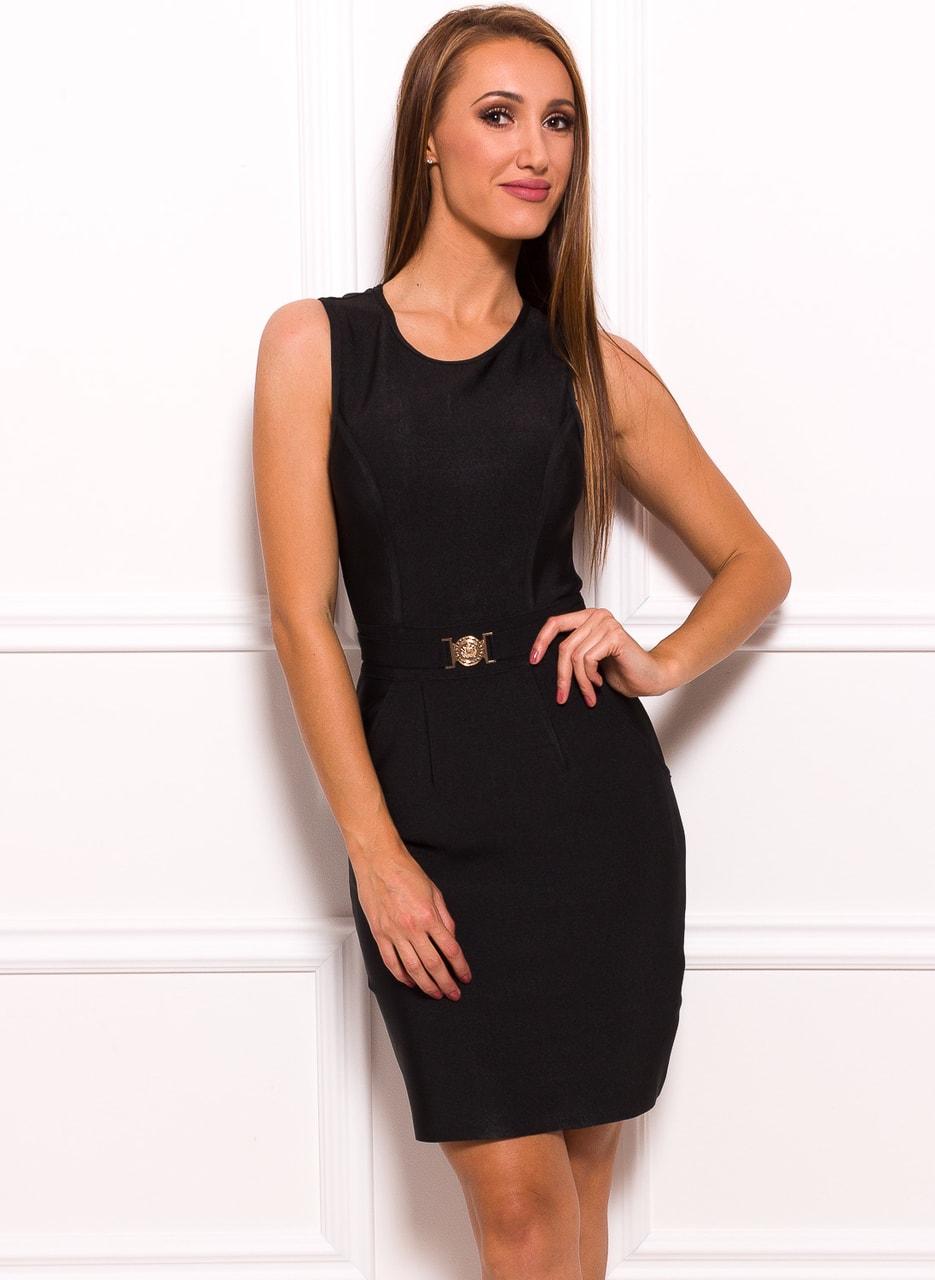 Glamadise.hu Fashion paradise - Női bandázs ruha Manosqe - Fekete ... 2171c93d4f