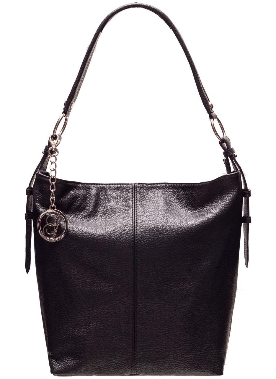 Glamadise.sk - Dámska kožená kabelka čierna mäkká - Glamorous by ... 1ac4f5ce9be