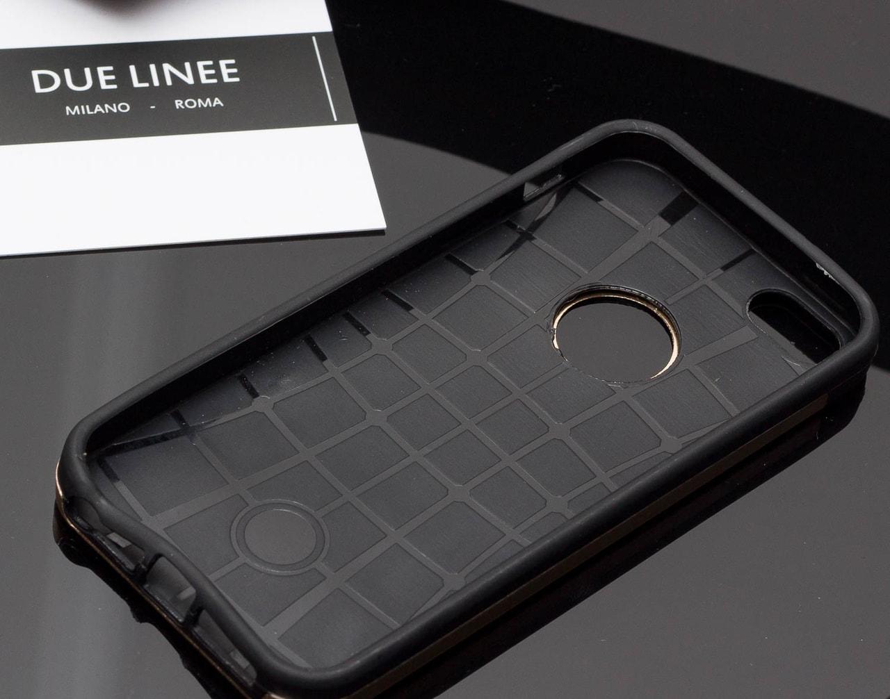 Glamadise.sk - Kryt na Iphone 6   6S - matná zlatá - Due Linee ... b00792cd98b