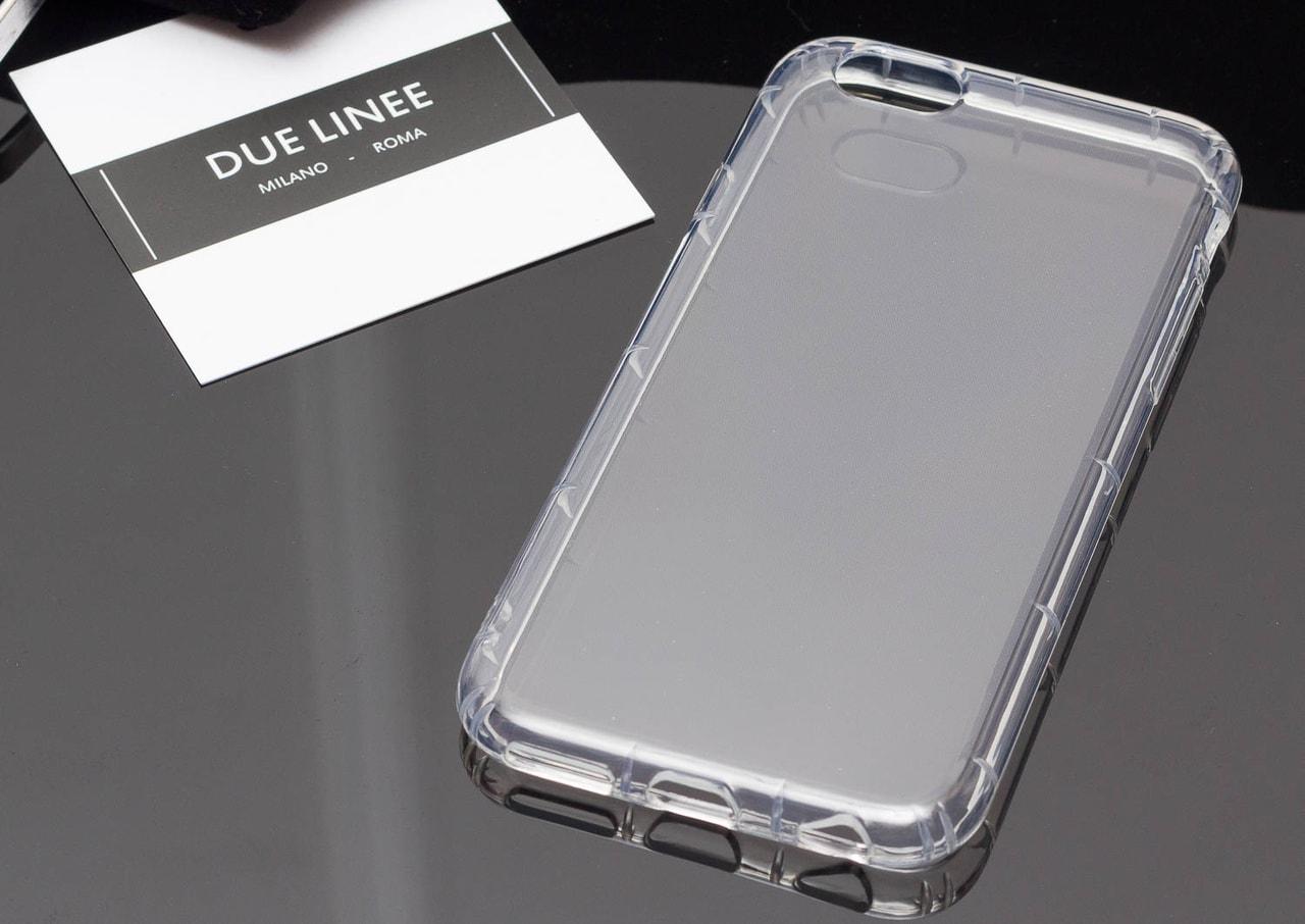 Glamadise.sk - Kryt na Iphone 6   6S - priesvitný - Due Linee ... 751522b0e72