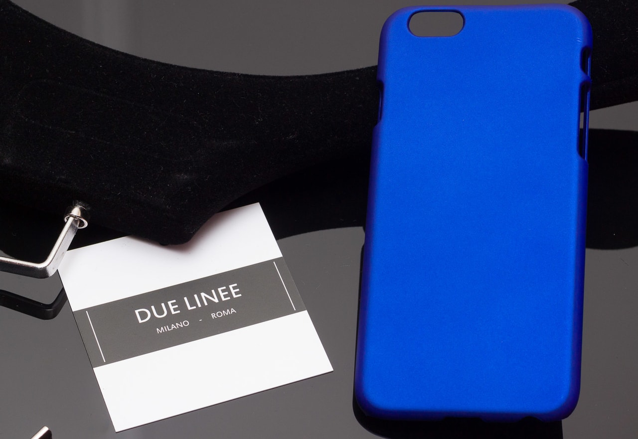 Glamadise.sk - Kryt na Iphone 6 6S - jednobarevný - modrá - Due ... b758bf14484