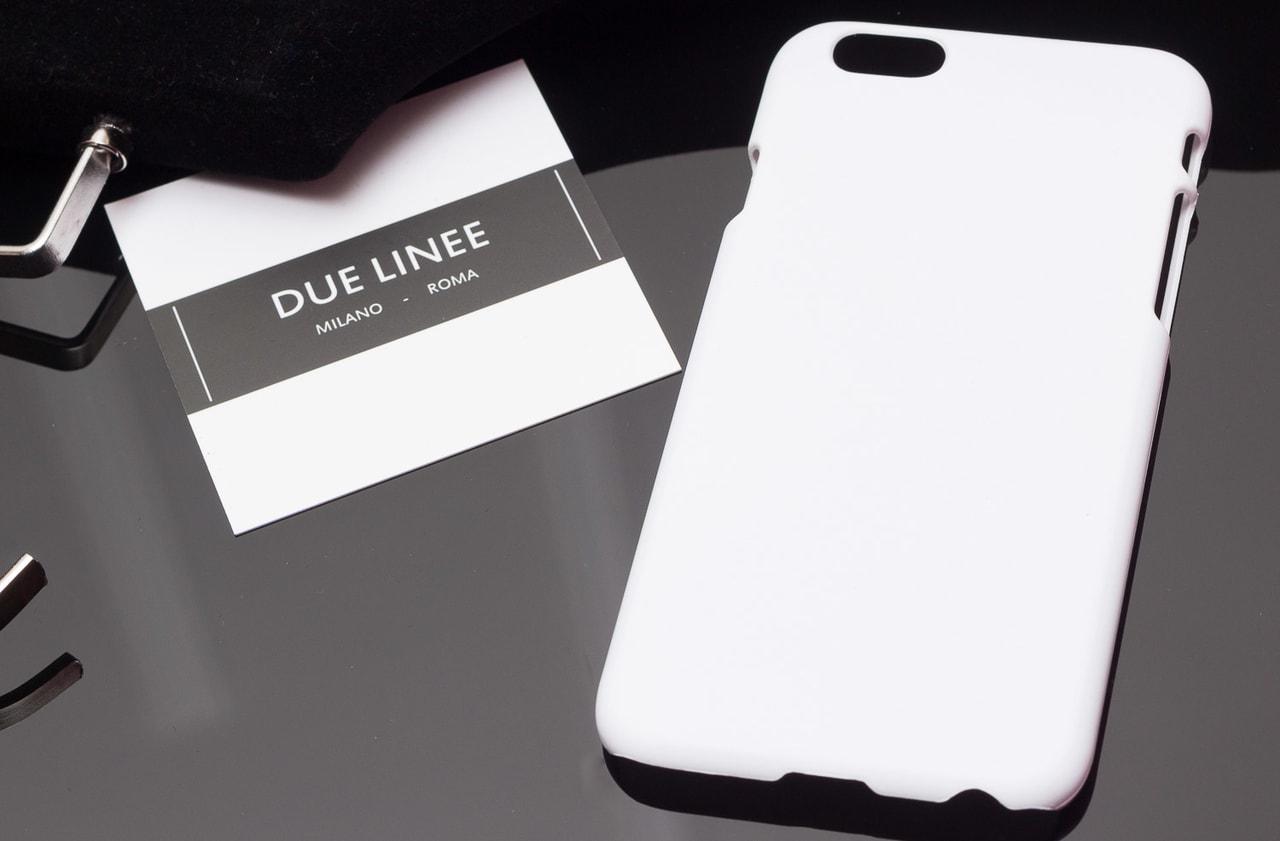 Glamadise.sk - Kryt na Iphone 6 6S - jednobarevný - bílá - Due Linee ... cf5b35433dc