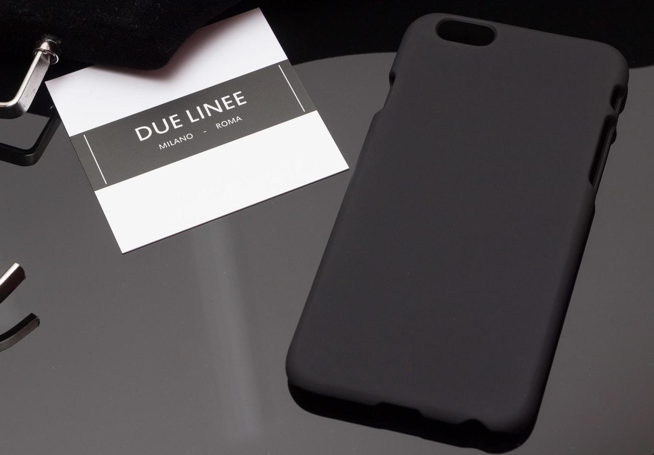 Glamadise.sk - Kryt na Iphone 6 6S - jednobarevný - černá - Due ... a8537019f04