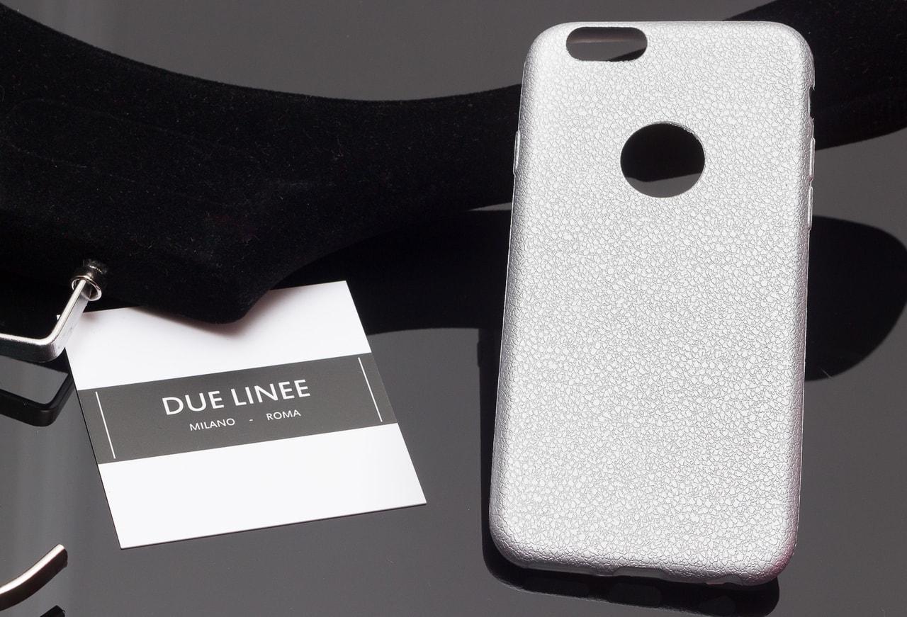 Glamadise.sk - Kryt na Iphone 6 6S - jednobarevný matný - stříbrný ... 1e73f814514