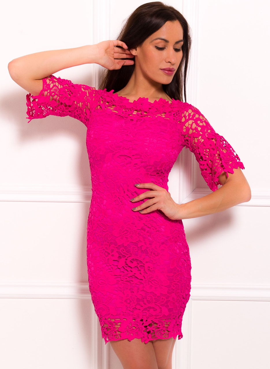Glamadise.hu Fashion paradise - Női ruha Due Linee - Rózsaszín - Due ... a8959ab99e