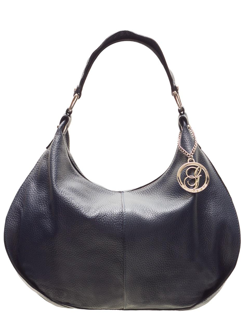 Glamadise.sk - Dámska kožená kabelka cez rameno puťka s volánom ... 8885a0ecb13