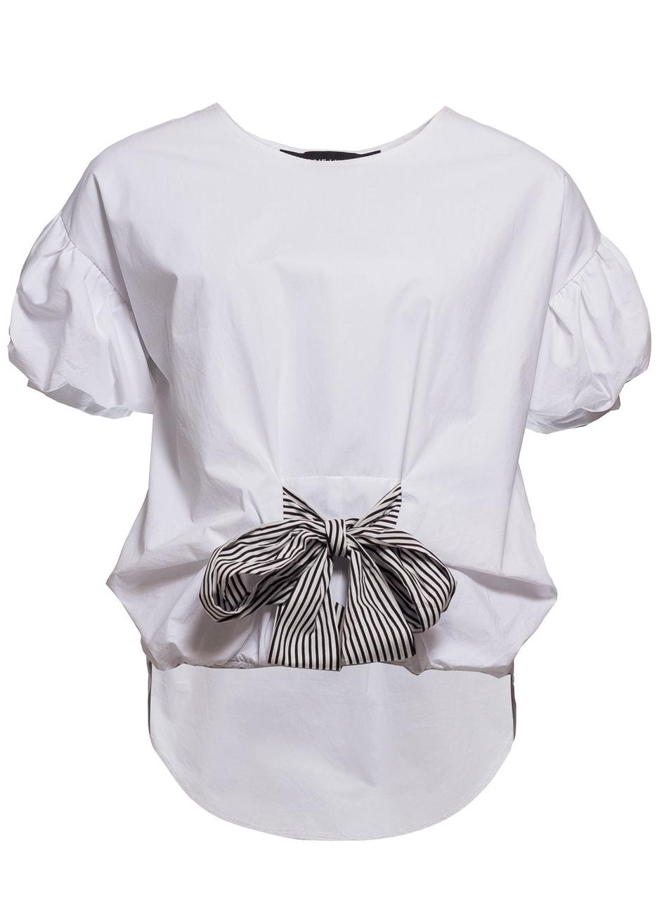 080aa165b0a0 Glamadise.hu Fashion paradise - Női top Due Linee - Fehér - Due ...