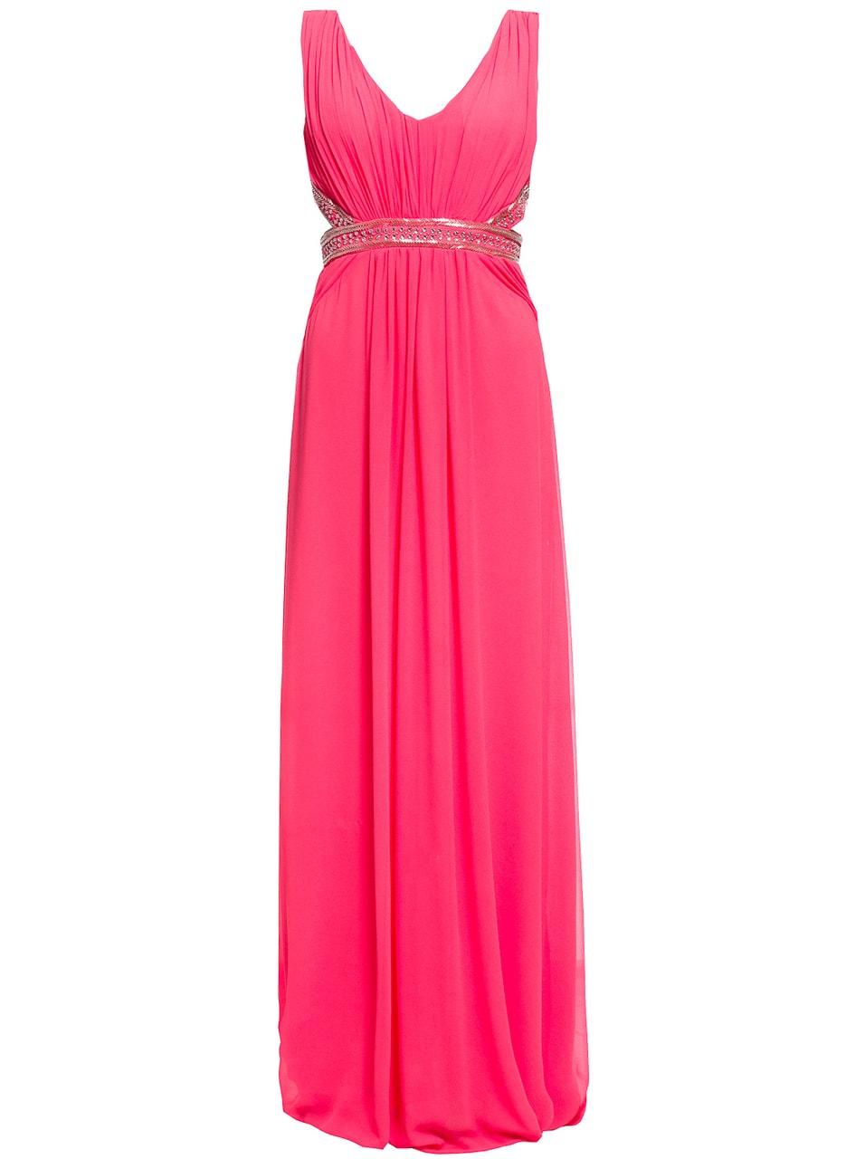 Glamadise.hu Fashion paradise - Női hosszú ruha Due Linee - Lazac ... 441260c9c5