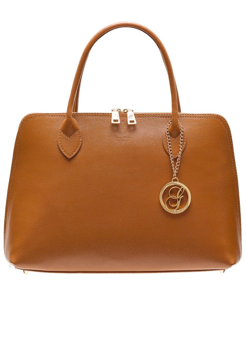 Dámská kožená kabelka ze safiánové kůže - coyo - Glamorous by GLAM ... 1303fac6c3