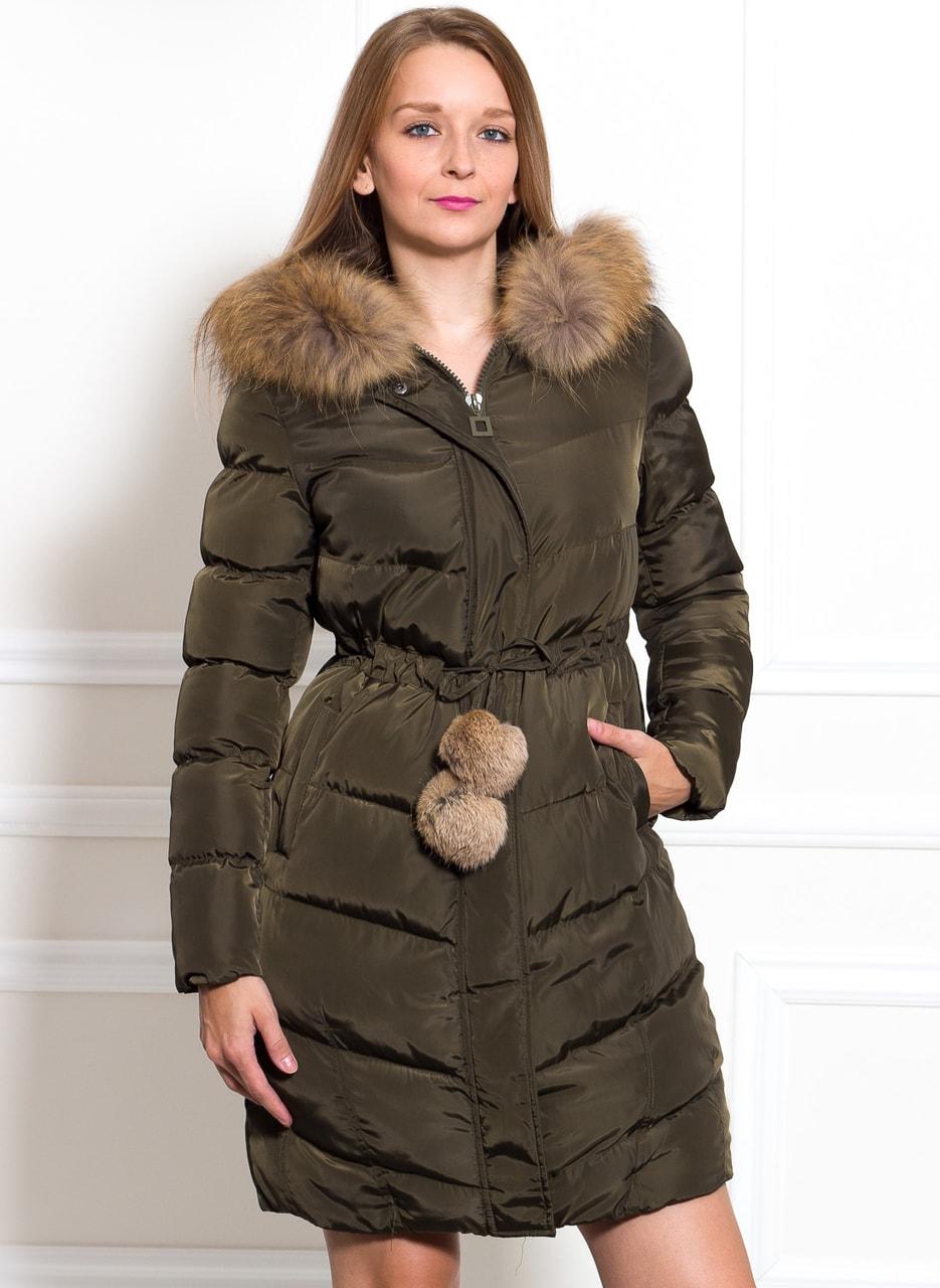 50b882ff57 Glamadise - Italian fashion paradise - Dámská zimní bunda s liškou a ...
