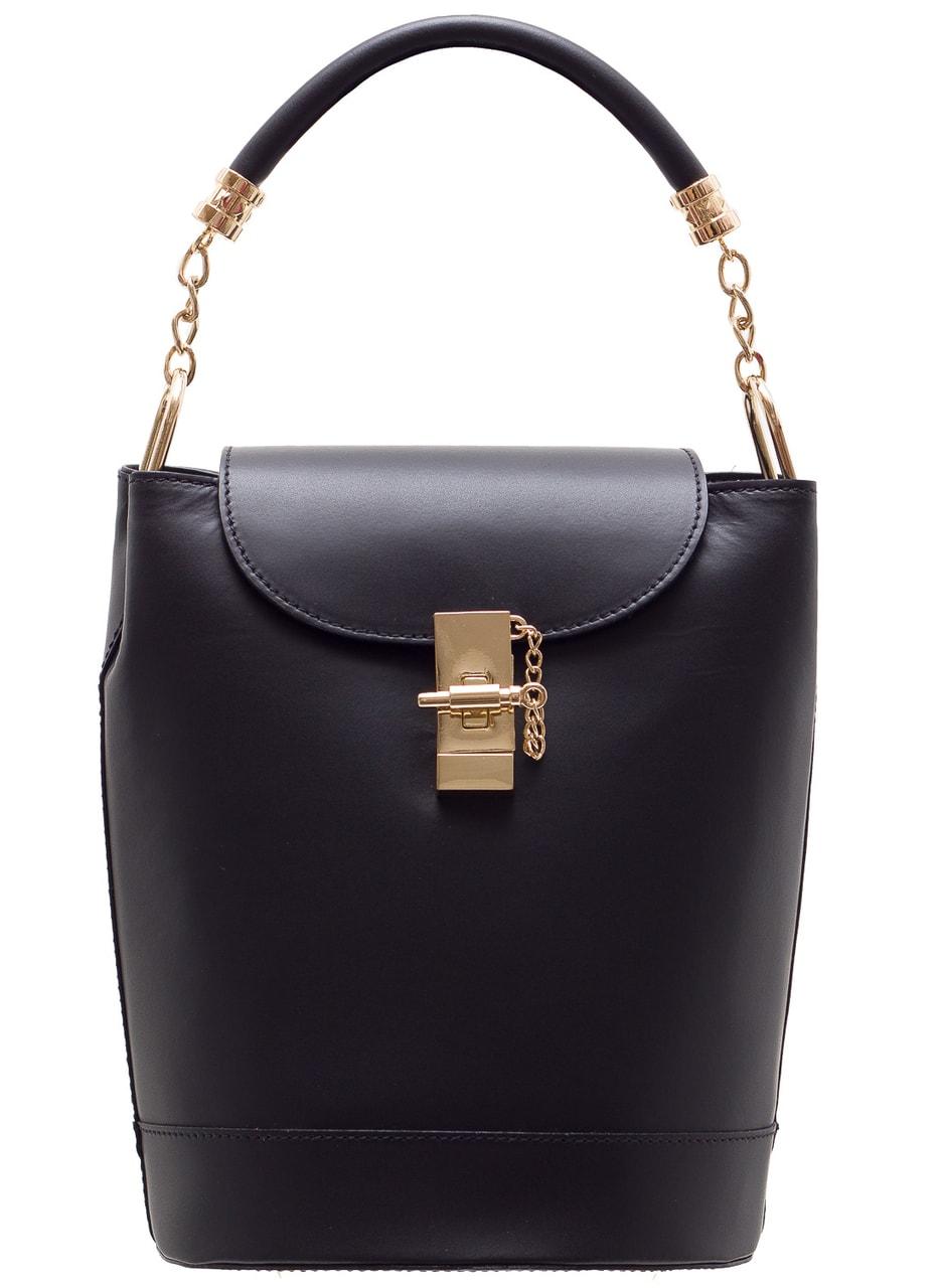 Glamadise.sk - Dámske elegantné batoh ai kabelka - čierna ... cdda517300e