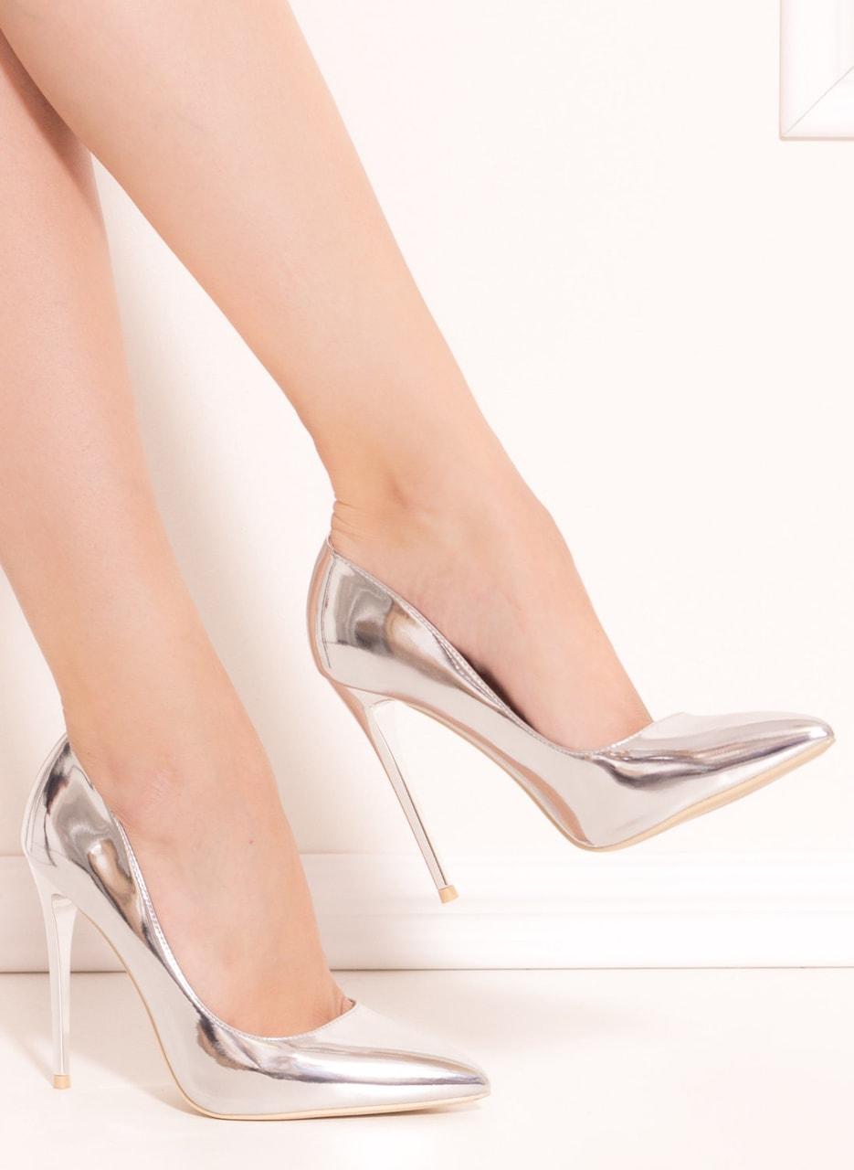 Dámské luxusní lodičky - stříbrná - GLAM GLAMADISE shoes - Lodičky ... 201c820490