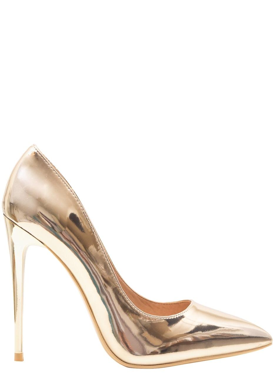 Glamadise.sk - Dámske luxusné lodičky - zlatá - GLAM GLAMADISE shoes ... bfea0b71f6