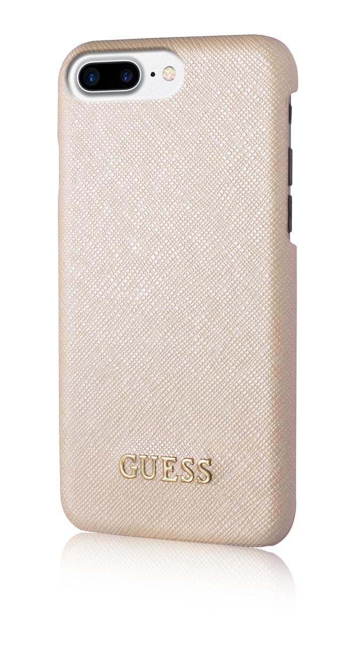 Glamadise.sk - Guess kryt iPhone 6 7 8 béžový saffiano vzhľad ... 811ff781995