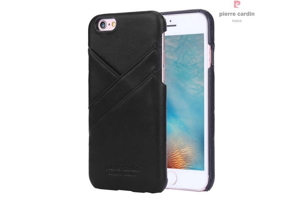Glamadise.sk - Piere Cardin kryt pre iPhone 6   6S z pravej kože ... 459ecae6eed