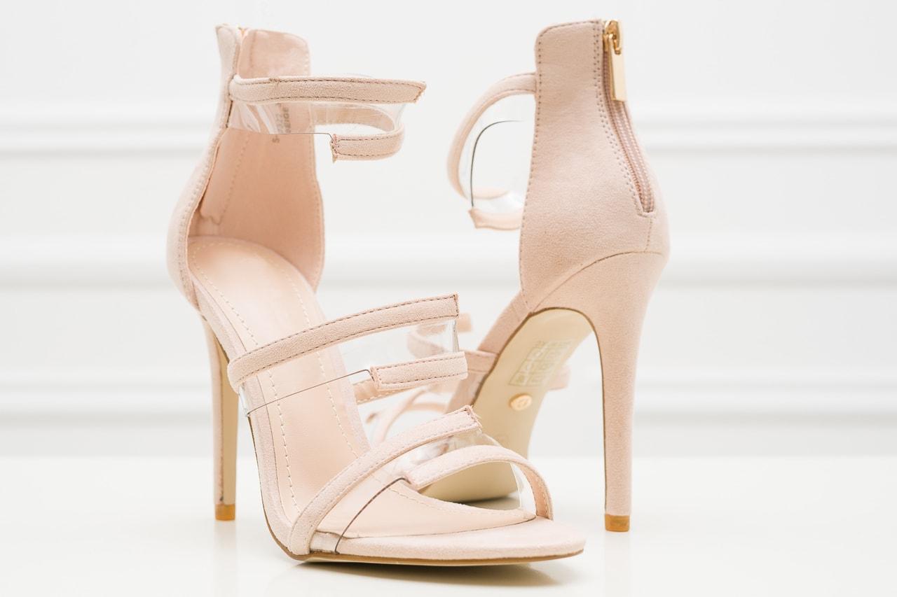 Glamadise.sk - Dámske páskové lodičky béžové - GLAM GLAMADISE shoes ... f2d116bd96
