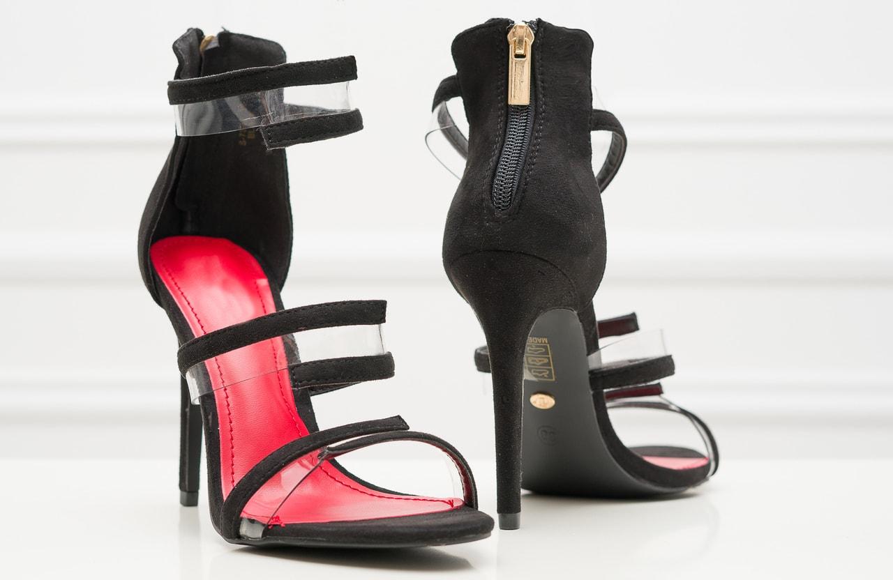 Glamadise.sk - Dámske páskové lodičky čierne - GLAM GLAMADISE shoes ... 9963315625