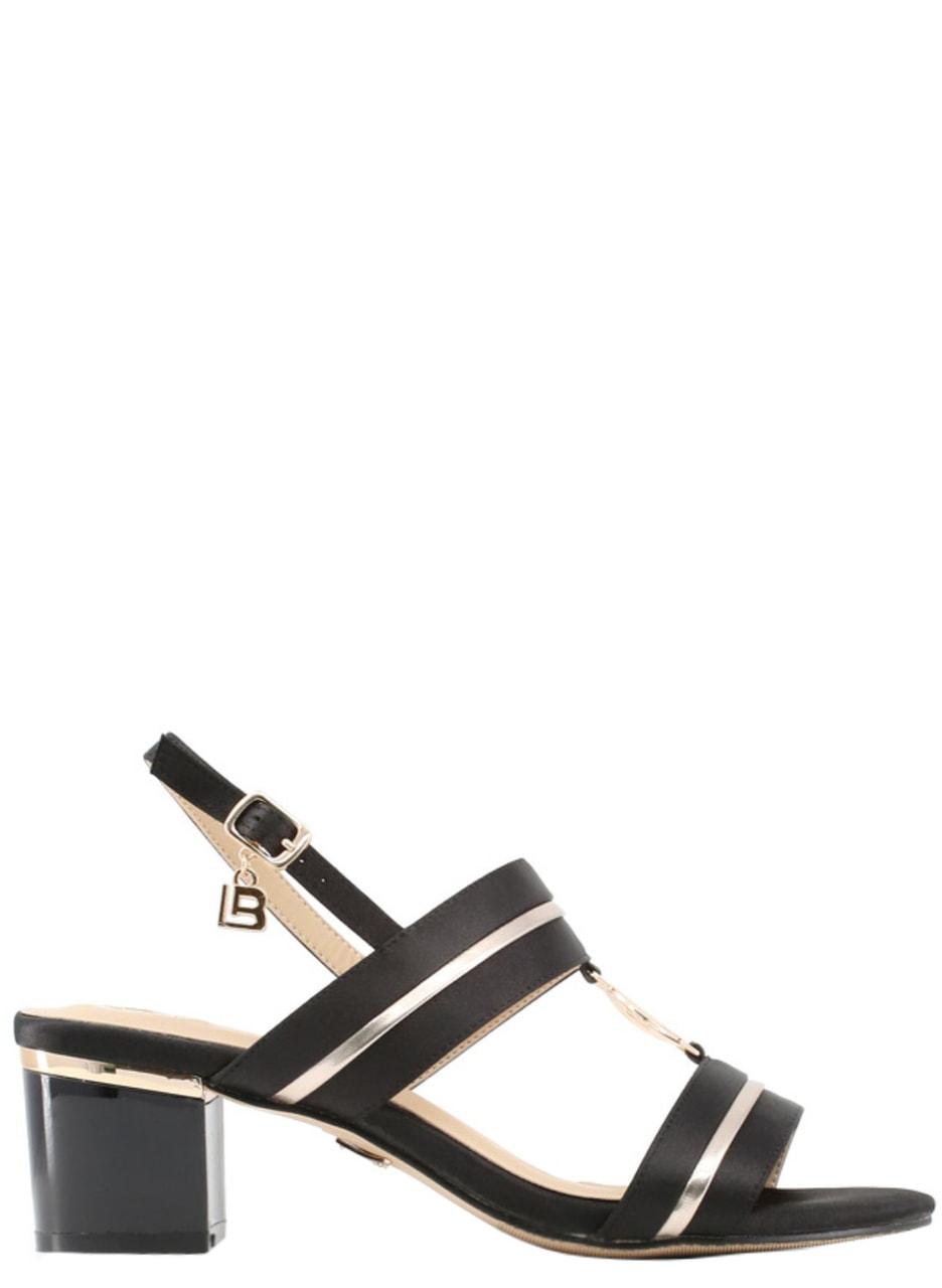 e1230c8974 Glamadise.sk - Dámske sandále na nízkom podpätku čierne - Laura ...