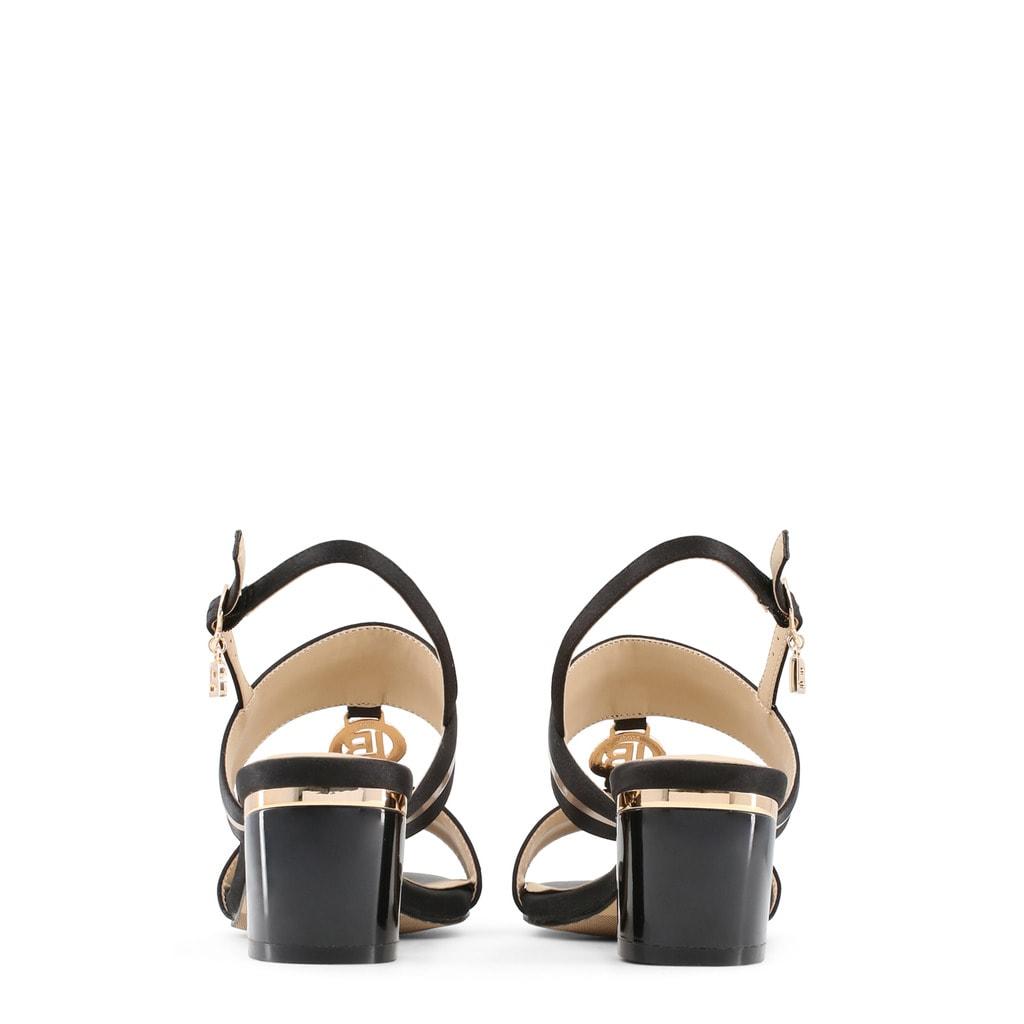 f1b9d1c00639 Glamadise.sk - Dámske sandále na nízkom podpätku čierne - Laura ...