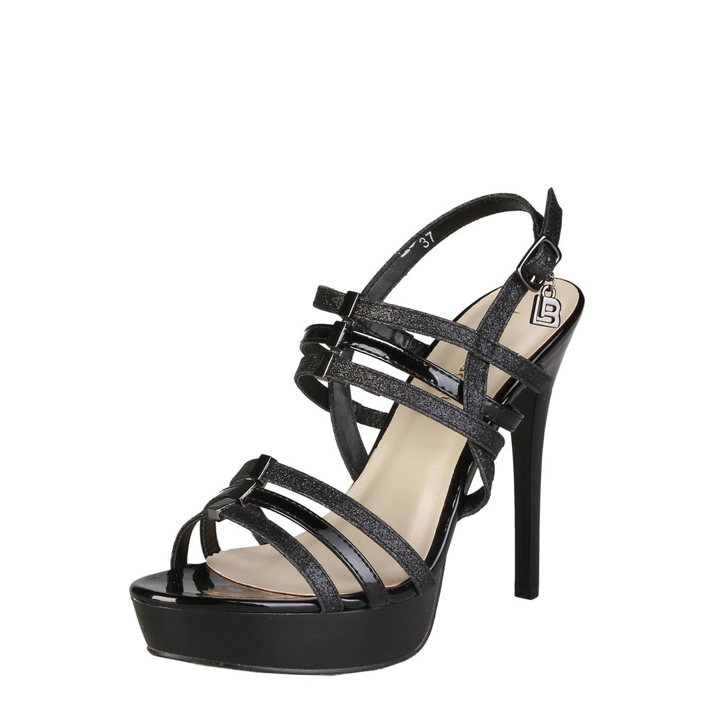 Glamadise.sk - Dámske čierne sandále na platforme čierne - Laura ... 8b2ec0aac5