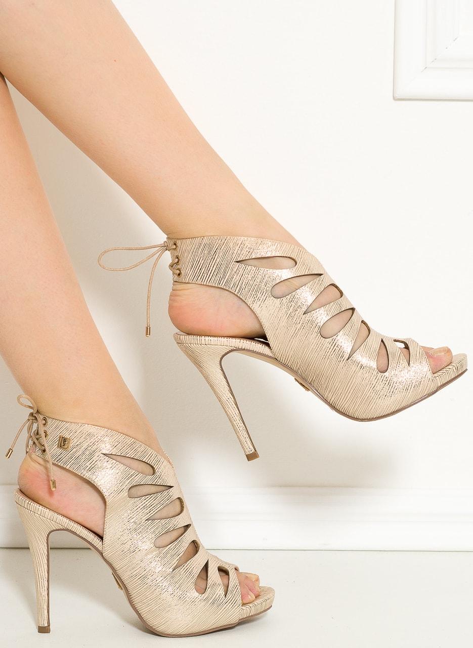Glamadise.hu Fashion paradise - Női szandál Laura Biagotti - Arany ... 50ccfaaa93