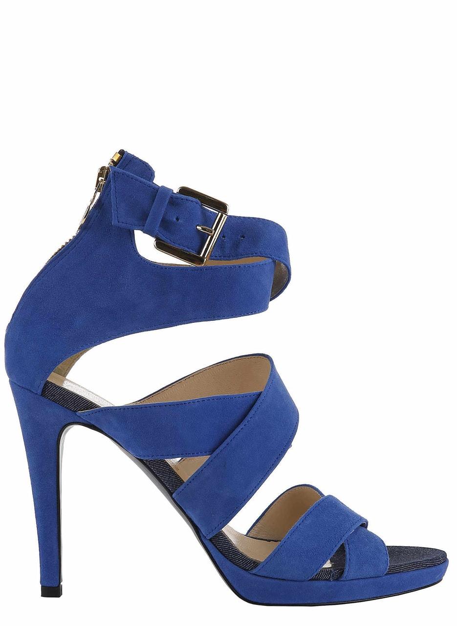 Trussardi páskové sandály modré - Trussardi - Sandály - Dámská obuv ... 986c09ff12