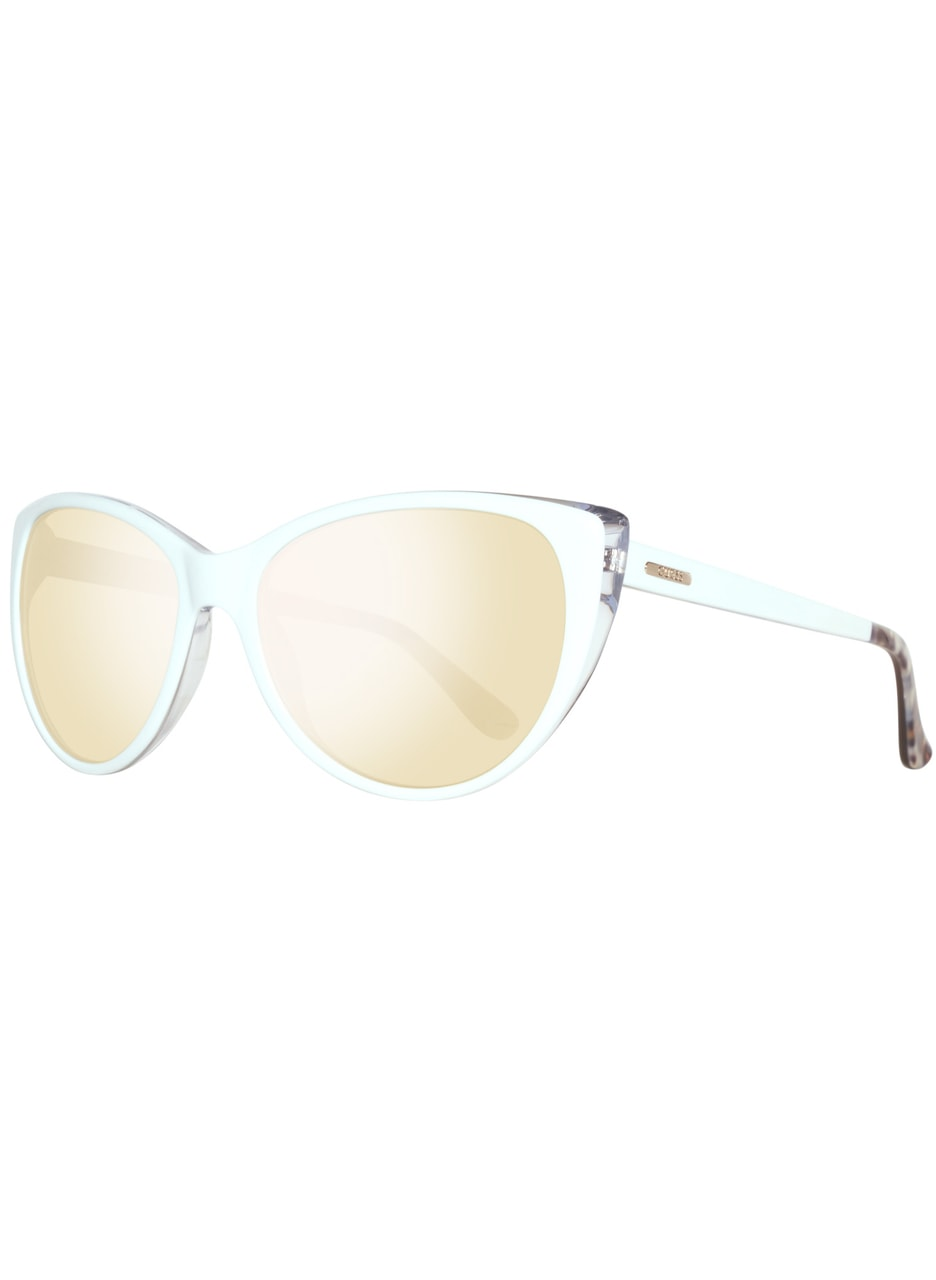 Glamadise.sk - Guess slnečné okuliare biele - Guess - Dámske slnečné ... e8dabb6a49f