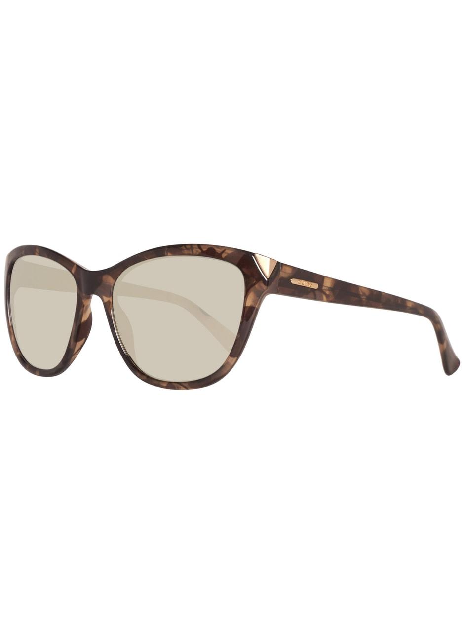 Glamadise.sk - Guess slnečné okuliare hnedo zlaté - Guess - Dámske ... 89c40b102cd