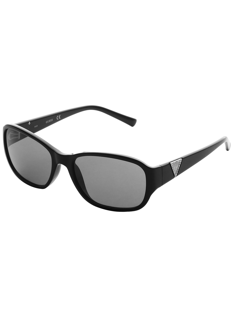 Glamadise.sk - Guess slnečné okuliare čierne - Guess - Dámske ... 26cd877aa60