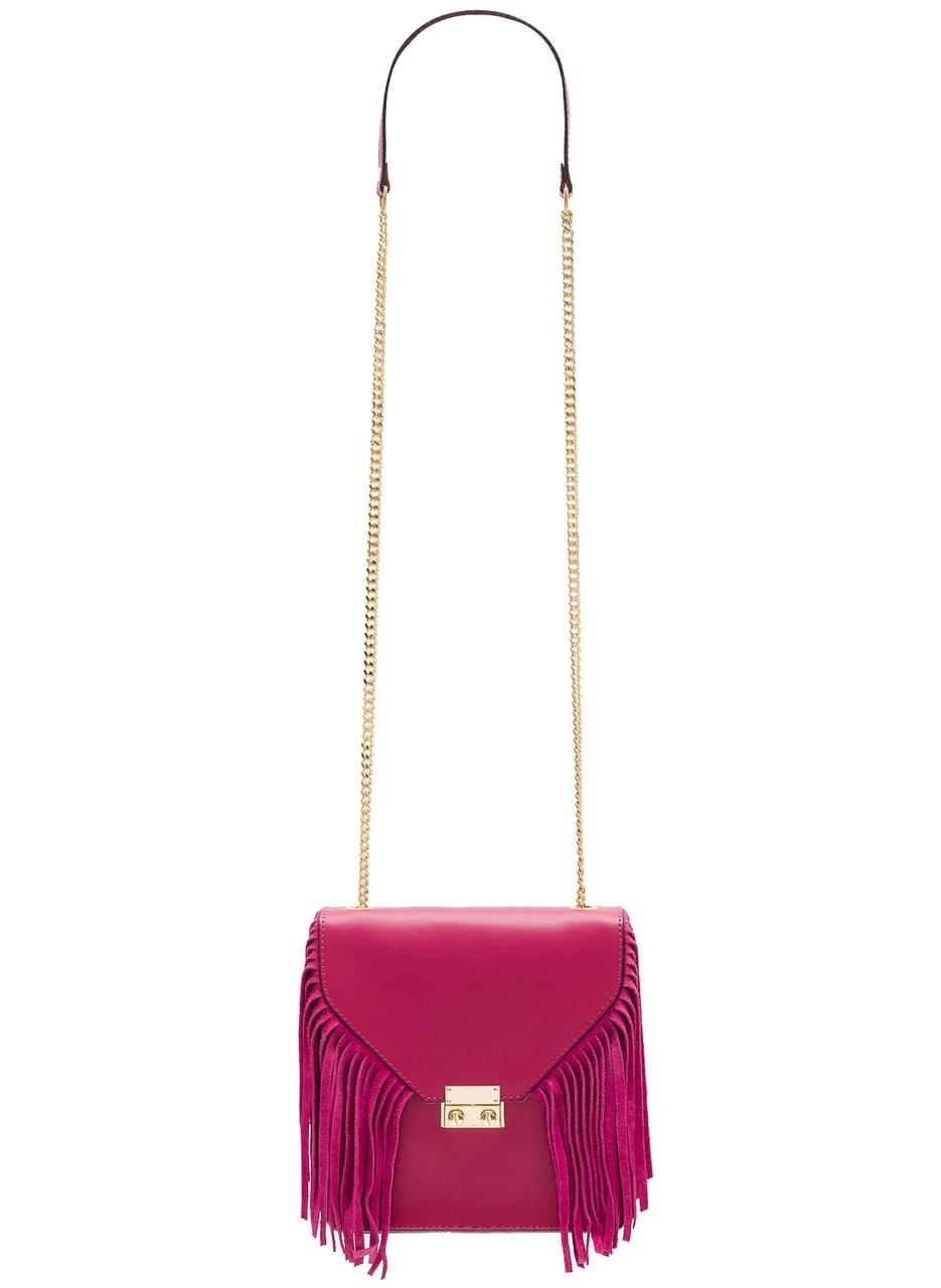 Glamadise.sk - Dámska luxusná kožená kabelka cez rameno - fuchsiová ... faad8892390