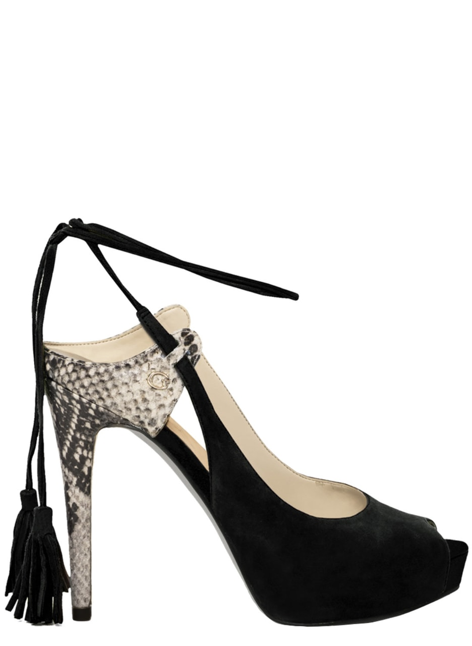 Glamadise.hu Fashion paradise - Női magassarkú Guess - Fekete ... d097f70504