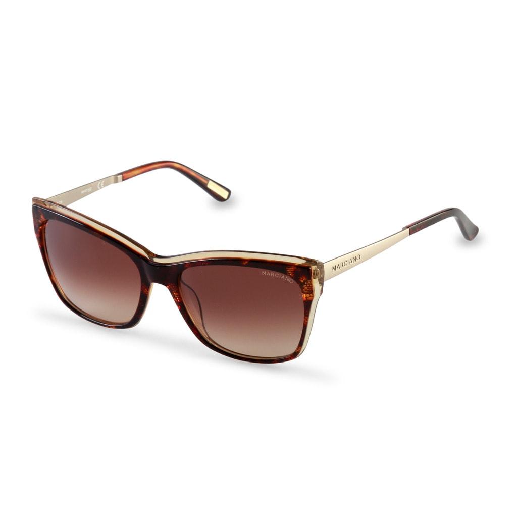 Glamadise.sk - Guess by Marciano slnečné okuliare hnedé - Guess by ... 594eb2a5f1d
