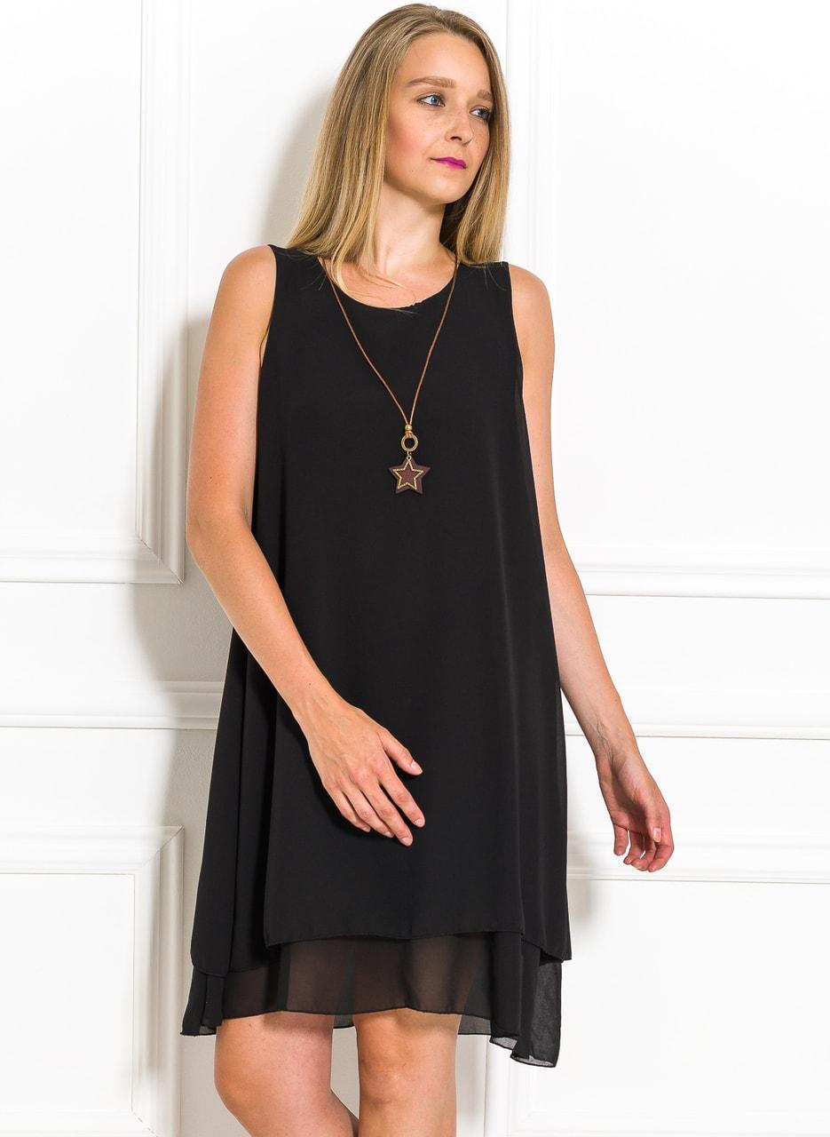 Glamadise.sk - Letné šaty voľného strihu čierne - Glamorous by Glam ... 656b7b7a6ed