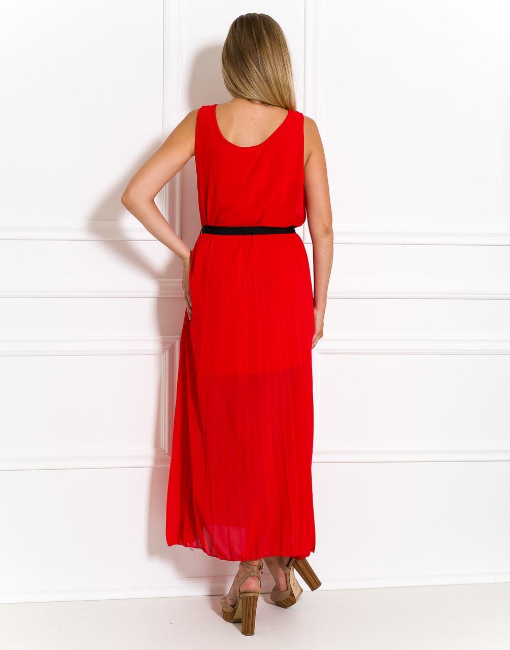 Glamadise.sk - Dlhé šaty červené plisované - Glamorous by Glam ... 57523123771