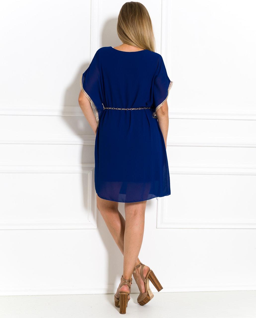 Antické letní šaty královsky modré - Glamorous by Glam - Letní šaty ... c0a98144bb