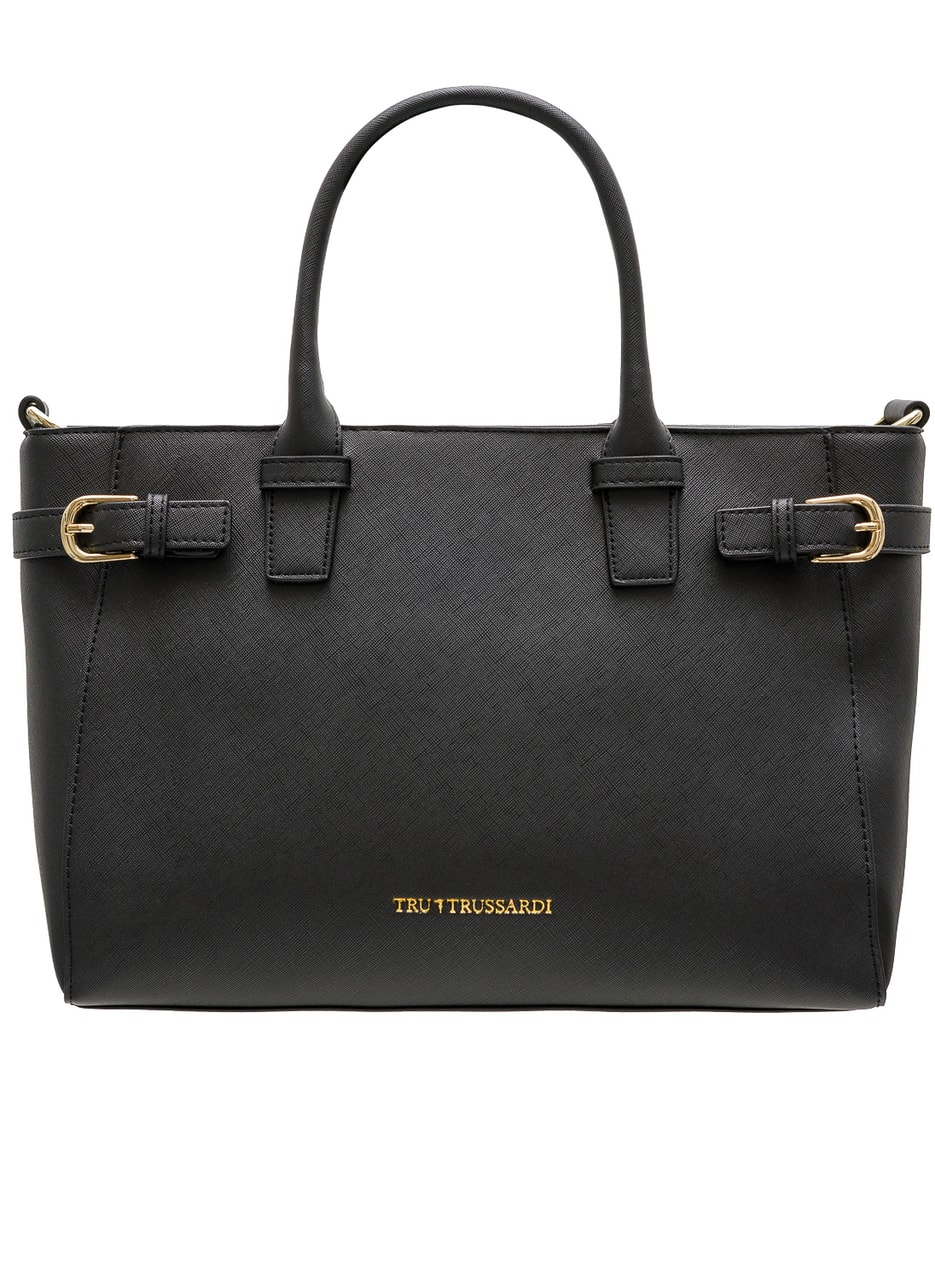 Glamadise.hu Fashion paradise - Női bőr kézitáska Trussardi - Fekete ... 5fac107b07