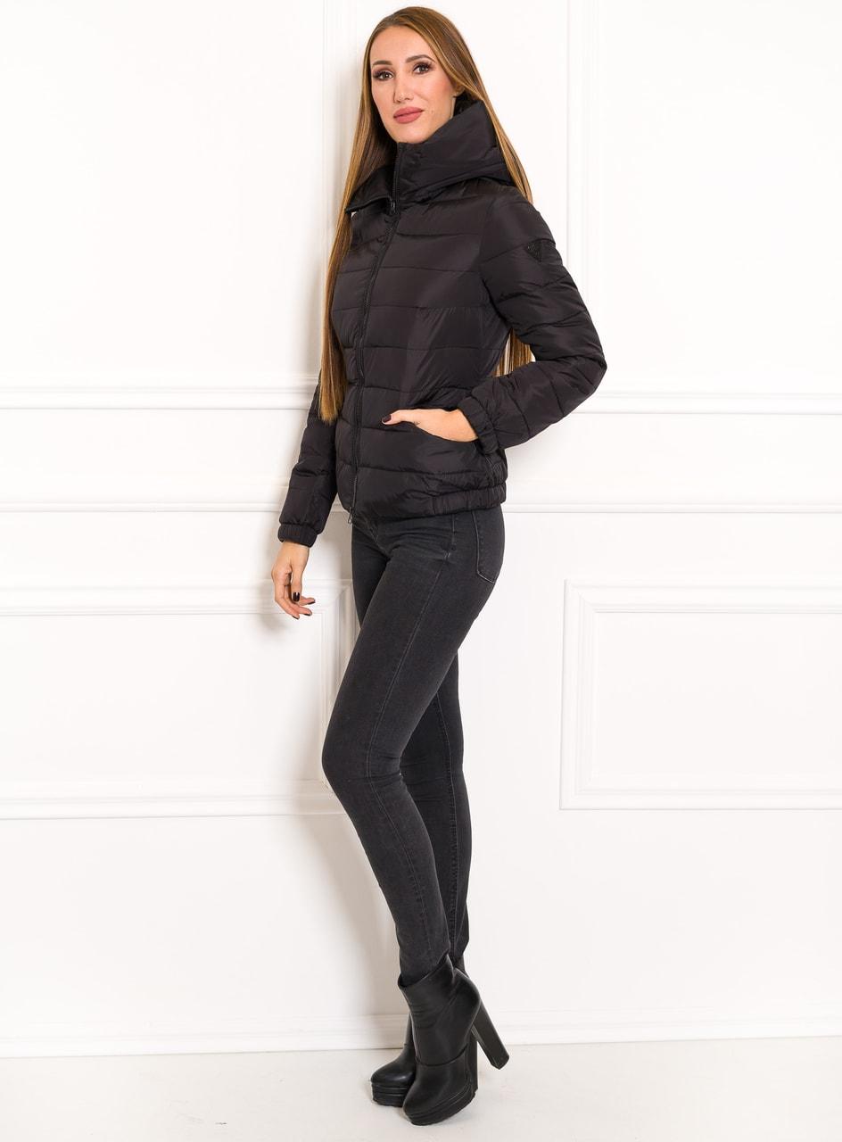 Glamadise.hu Fashion paradise - Női téli kabát Guess - Fekete ... 1f6bc85965