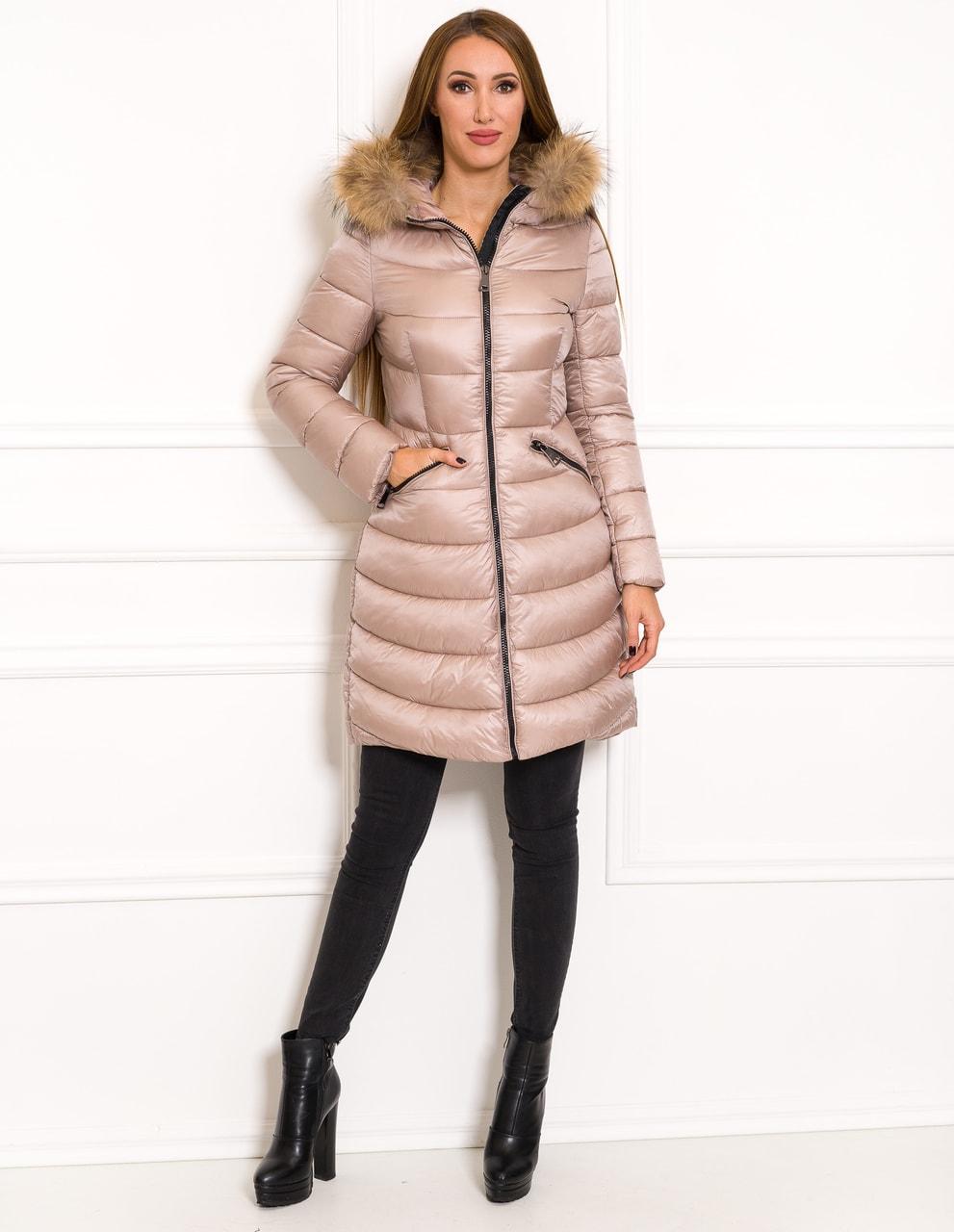 b92bc3f13a8d Glamadise.hu Fashion paradise - Női téli kabát eredeti rókaszőrrel ...